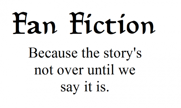 Fan Fiction, Part One: Fan Fiction and Contradiction