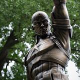 NYC Captain America statue has been dusted with ashes of comic creator