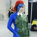 Cosplay We Love: Mystique in mid-shift