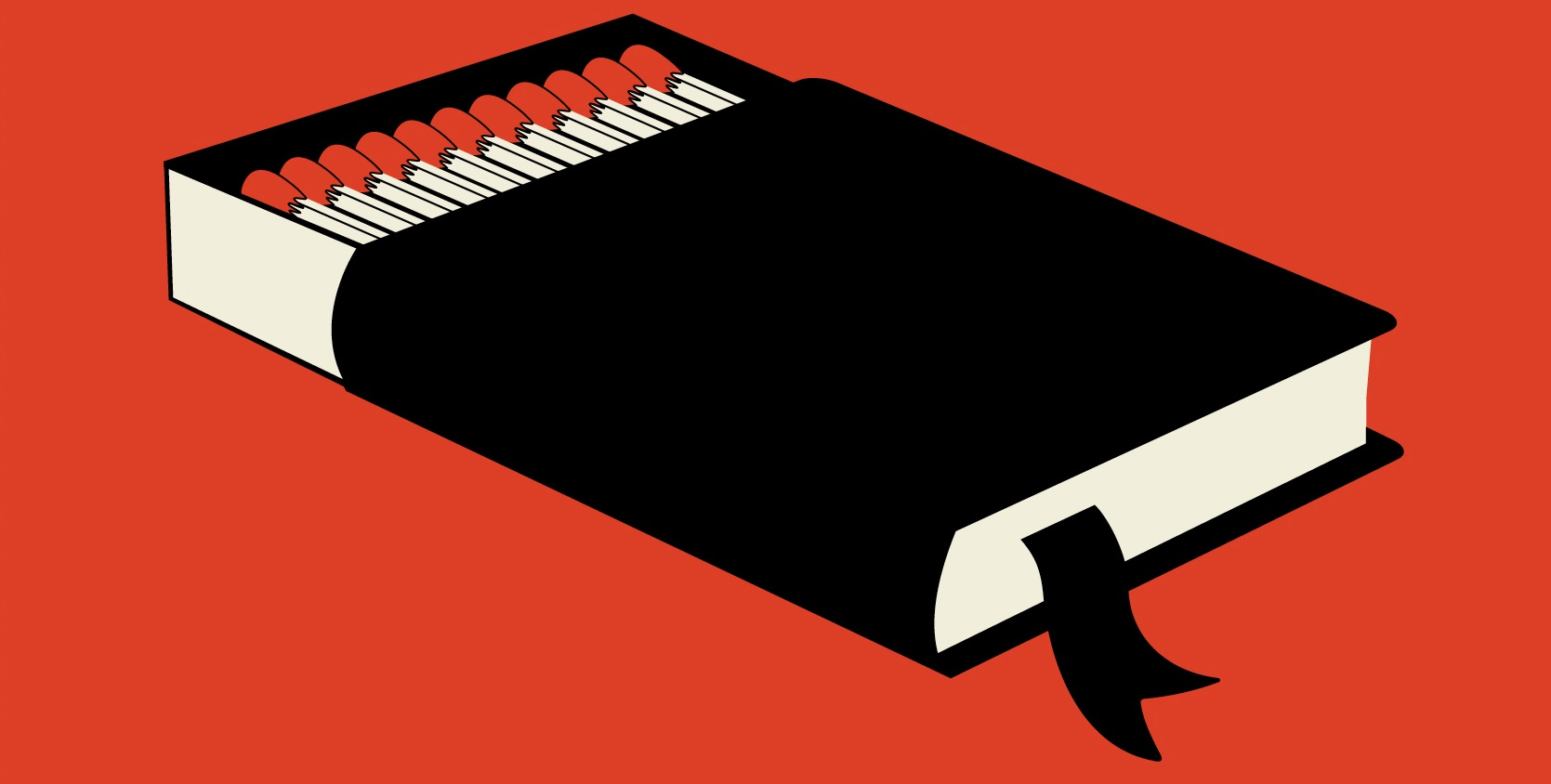 This clever copy of Fahrenheit 451 can only be read when burned