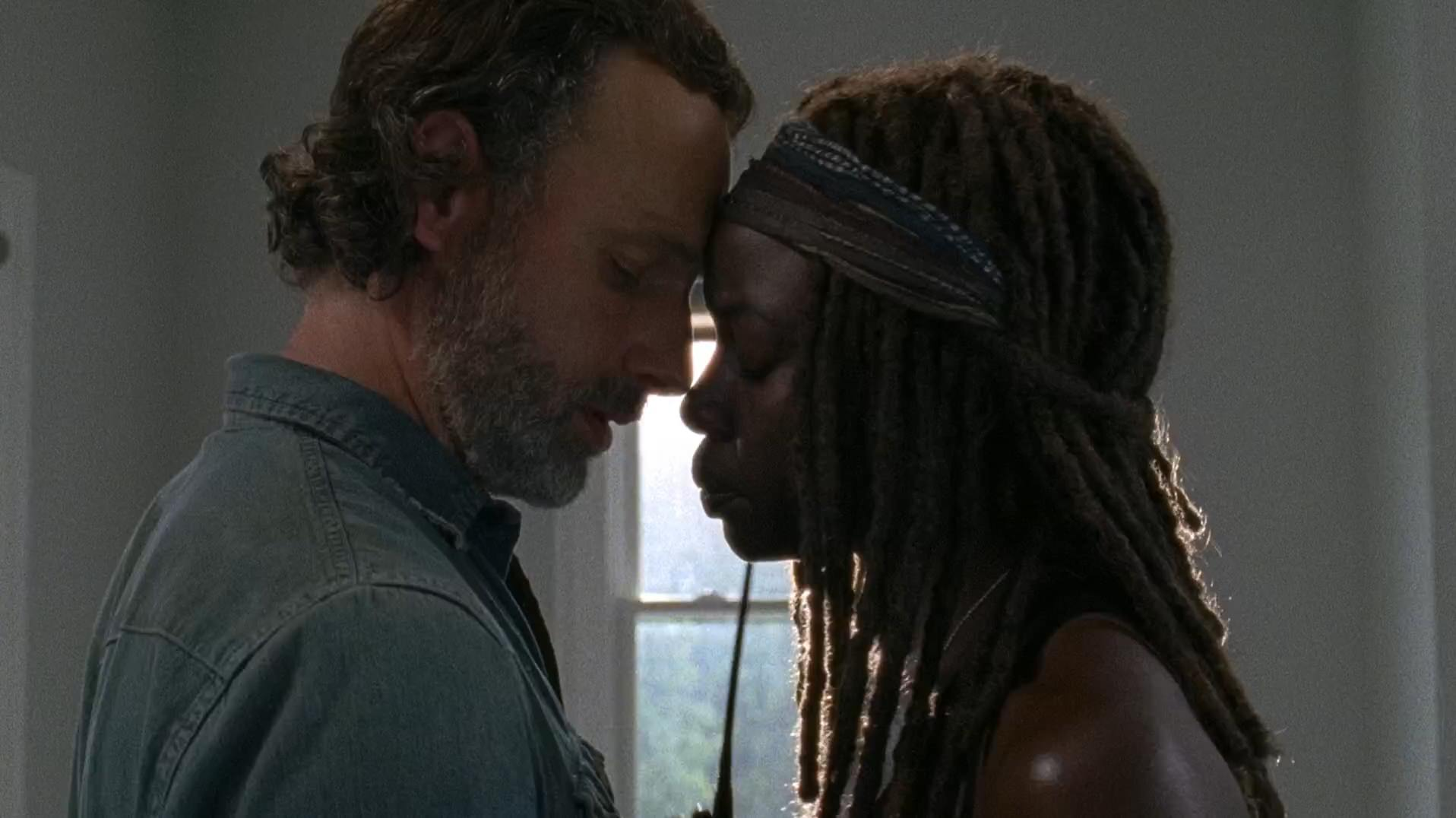 Danai Gurira on what's next for Rick and Michonne on The Walking Dead