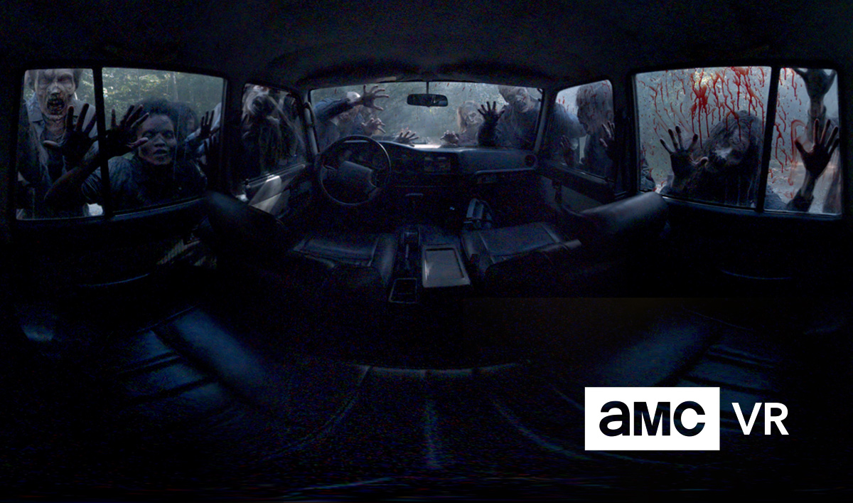 AMC gives The Walking Dead and Into the Badlands their own VR app