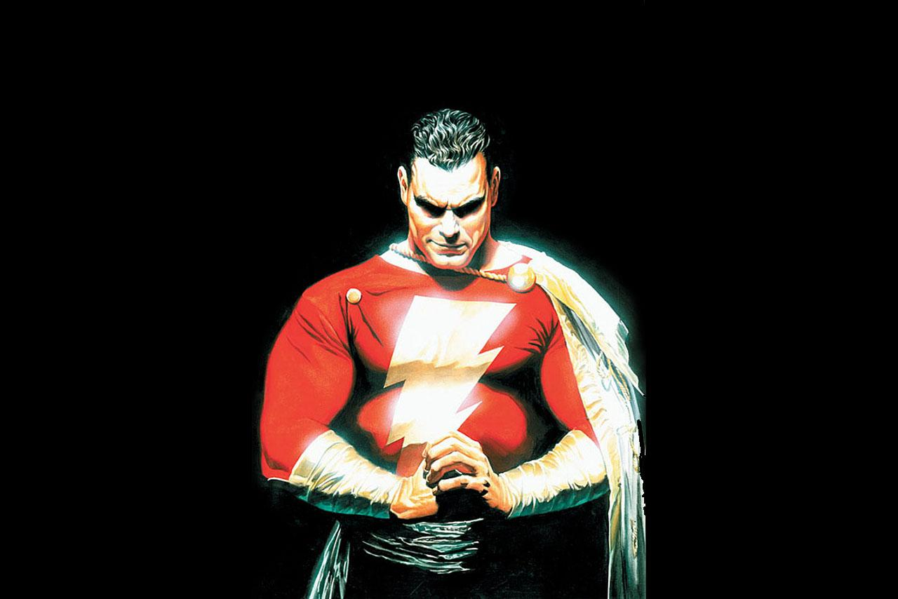 Image of the day: Shazam! director Instagrams first poster. Sort of