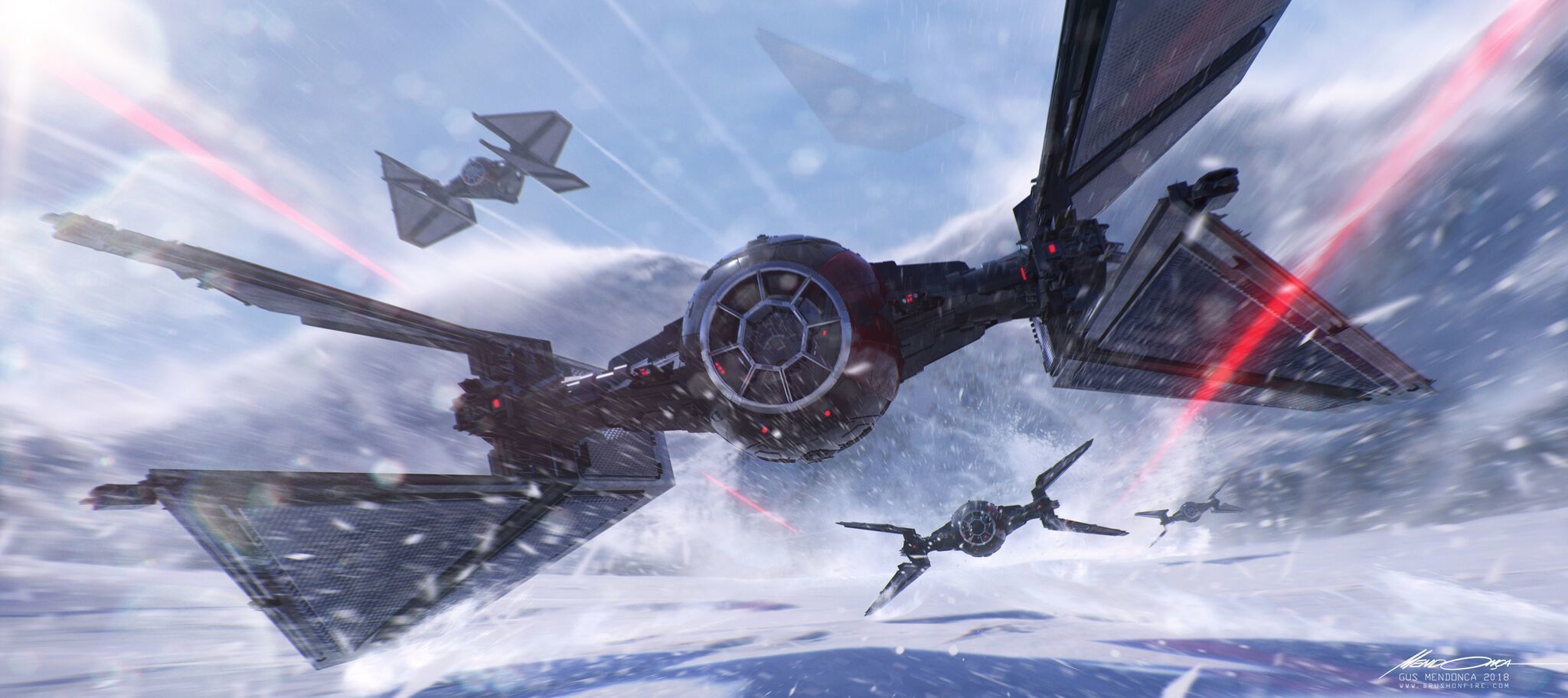Jobs We Want: Concept artist Gus Mendonca helps create the look of Star Wars, Halo, and others