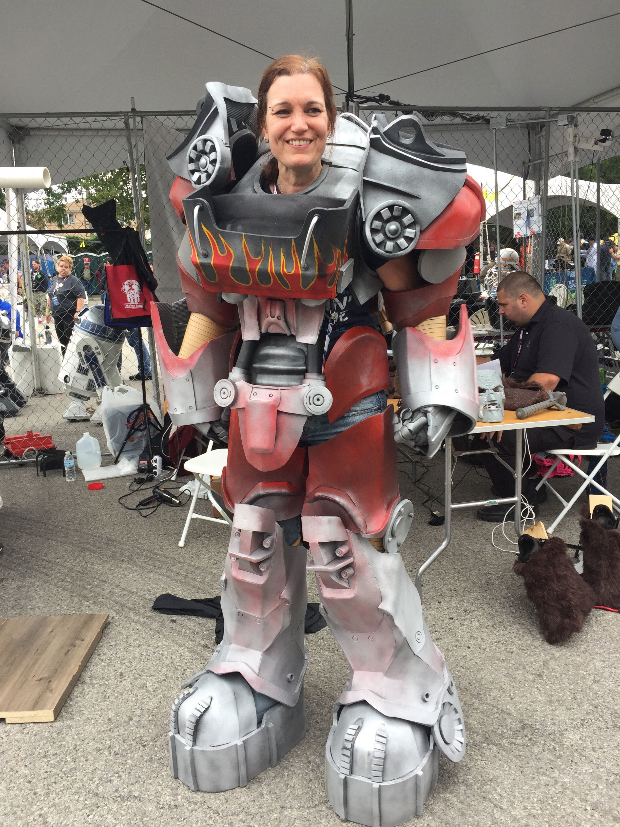 Check out these incredible 3D-printed cosplay props from the Maker Faire in NYC